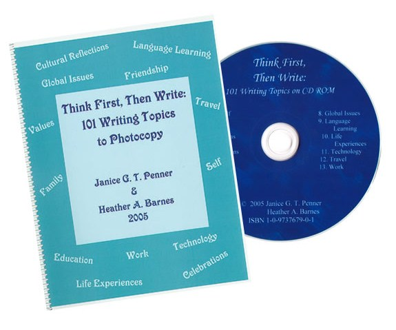 Think First, Then Write: 101 Writing topics Set