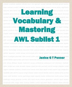 Learning Vocabulary & Mastering AWL Sublist 1